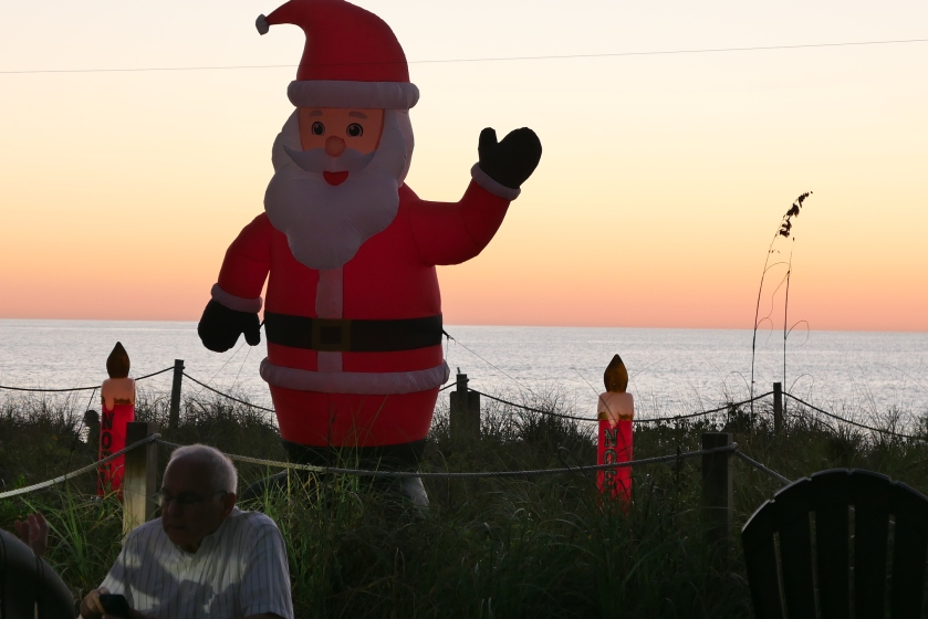 Santa in Sanibel